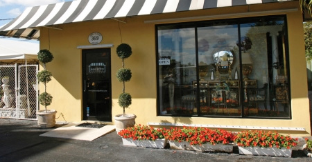 James & Jeffrey Antiques on West Palm Beach Floridas Antique Row