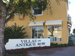 The Villas on Antique Row, offering retail and residential properties on Antique Row!